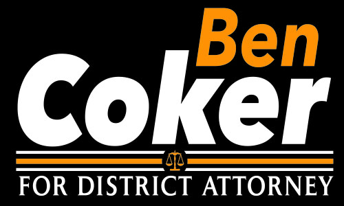 Republican Ben Coker for District Attorney